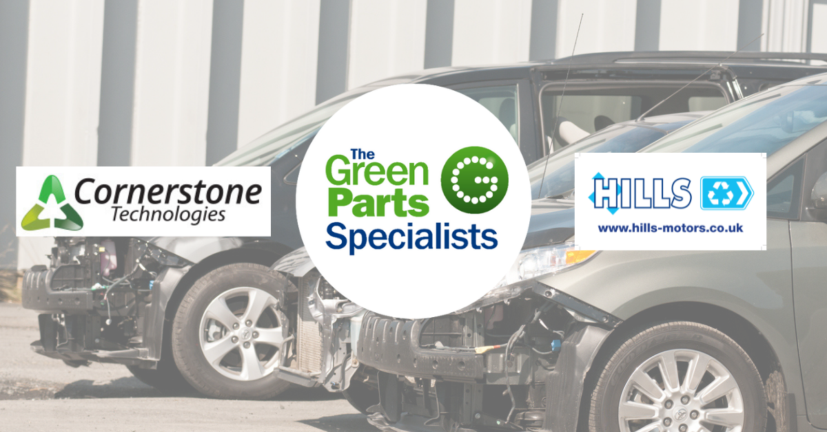 Cornerstone Technologies and The Green Parts Specialists team up to provide cost efficient repair solutions for the Insurance Industry